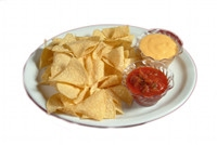 Chips & Salsa w/Queso $2.99